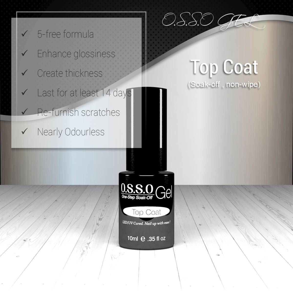 Gel Polish Colors Osso Nail Display Color Wheel Chart